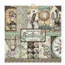 Stamperia - Double-Sided 12 x 12 Inch Paper Pack - Voyages Fantastiques
